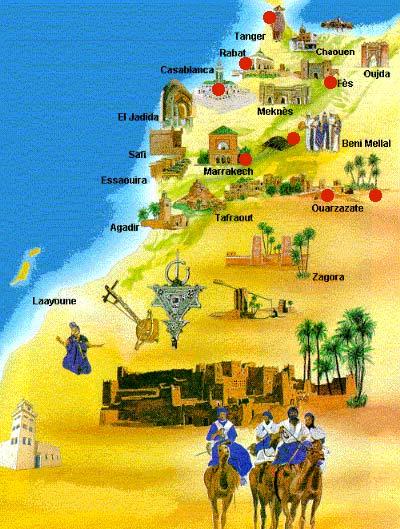دولة المغرب في الماضي والحاضر 10days_map.jpg